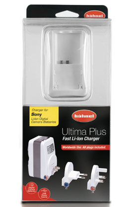 Hahnel Ultima Plus Sony Dc Charger